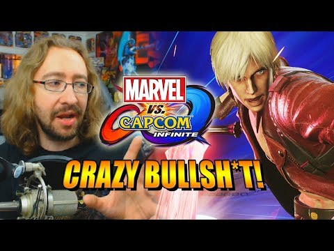 CRAZY BULLSH*T & New Mechanics: Marvel Vs. Capcom Infinite