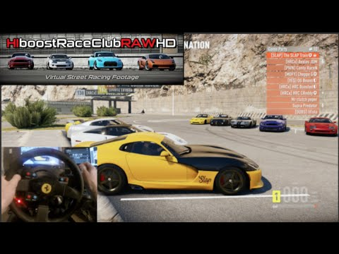 FH2 Drag Meet GoPro 1100HP+ Twin Turbo Viper w/HiboostRaceClubRAWHD | SLAPTrain