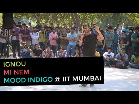 """Rap Remix """"Pyaar Ki Baat"""" of Nucleya's Laung Gawacha by Aman Sharma at Mood Indigo"""