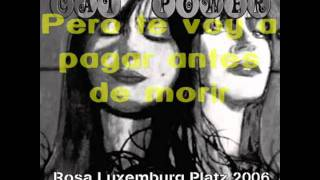 Cat Power - Naked if I want to - Live (Rosa Luxemburg Platz) - Subtitulado en español