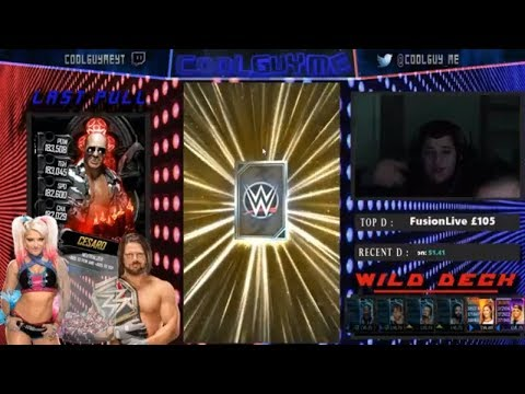NEON FREEBIE!!! + NEON PLATINUM PACK!!  |  WWE Supercard #4 (Season 5)