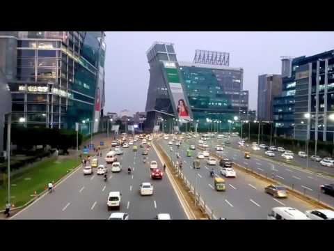 Modern city Gurgaon india