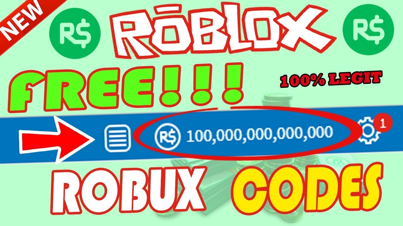 Roblox How To Get Free Robux Codes 2018 Free Robux Codes Free Robux 2018 Robux Roblox Youtube