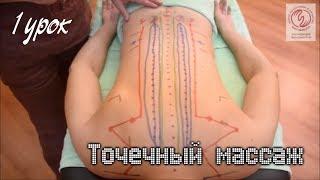 Точечный массаж. 1 урок. Противопоказания. Меридианы и точки