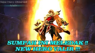 Video NEW HERO VALIR !! SUPER MELEDAK MELEDAK !! download MP3, 3GP, MP4, WEBM, AVI, FLV Juli 2018
