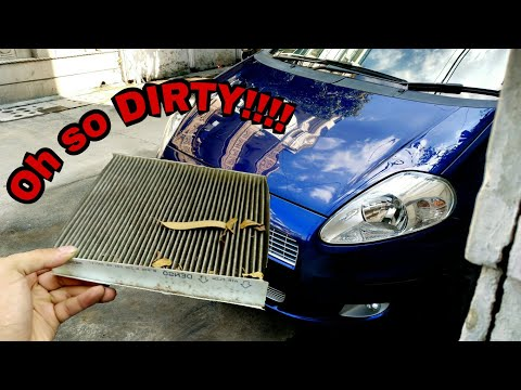 Punto Cabin/AC Filter cleaning or replacement