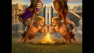 "Clash of Clans WAR ""Lord Steele vs The Ram""- last moments non-stop action"