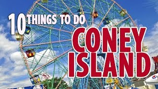 10 BEST THINGS TO DO & EAT in CONEY ISLAND | Brooklyn , New York