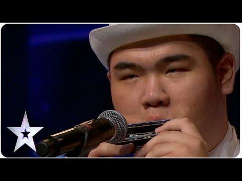 Oscar Chu Plays 8 Harmonicas   Asia's Got Talent 2015 Ep 2