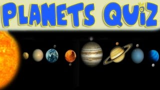 Planets of Our Solar System - Quiz for Kids