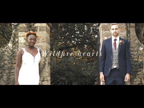 'Wildfire Hearts' - Autumn Themed Wedding Styled Shoot  // Middle Easton House, Oxfordshire UK