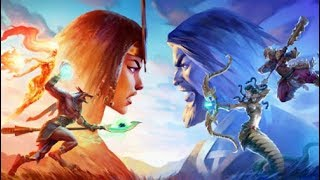 GAME DE CARTAS GRÁTIS INCRÍVEL Hand Of The Gods Smite Tactics Gameplay 4K 60fps