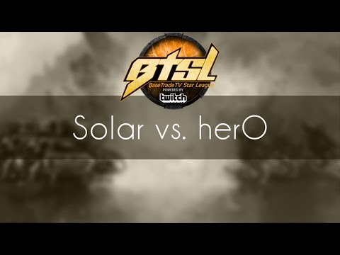 Solar vs. herO - ZvP - BSTL Season 3 Finals
