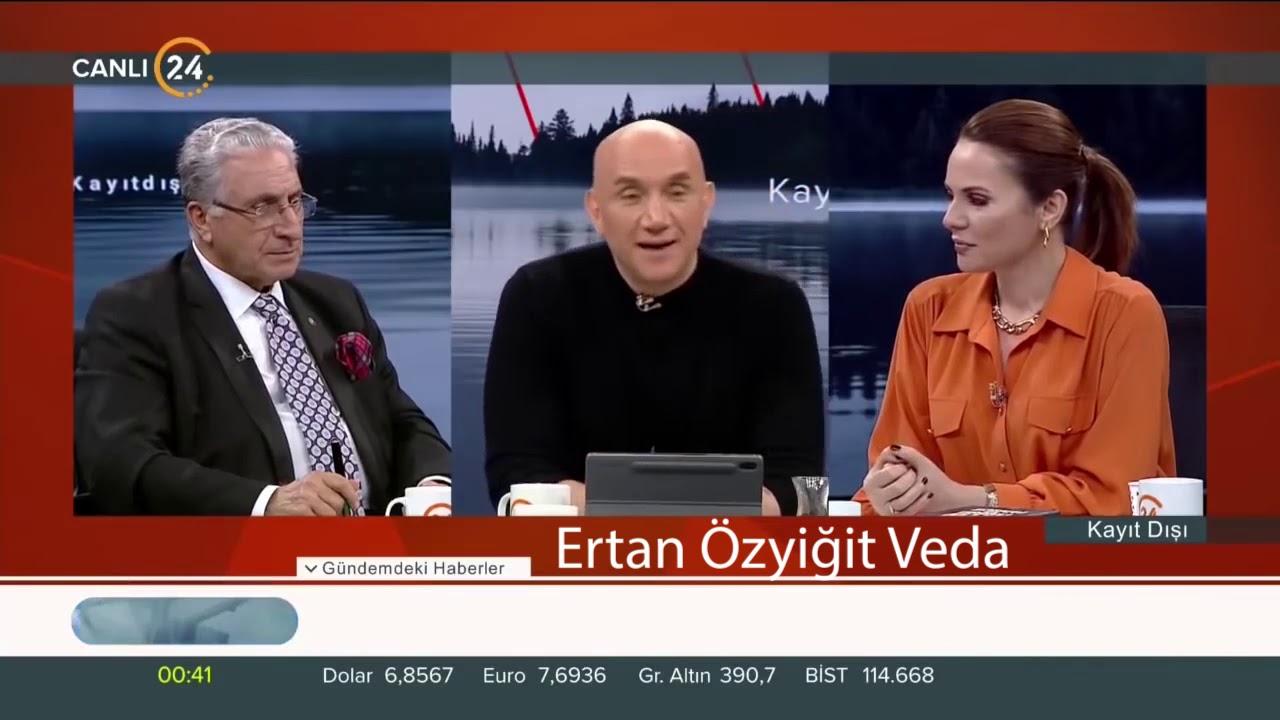 Ertan Özyiğit 24TV Veda Konuşması