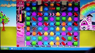 Candy Crush Saga Level 715 - 3 Stars No Boosters!