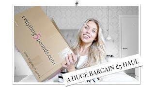 HUGE EVERYTHING5POUNDS.COM TRY ON HAUL & REVIEW £5 APRIL 2018