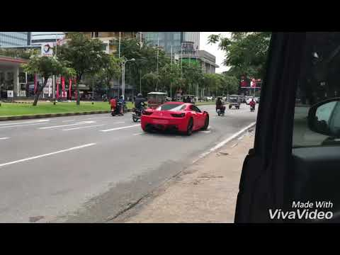 Super car Phnom Penh Cambodia 05