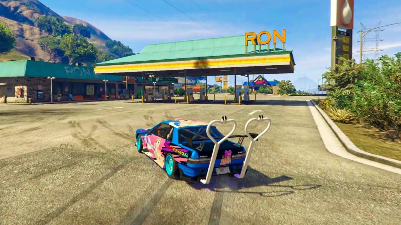 Drifting in GTA be like...