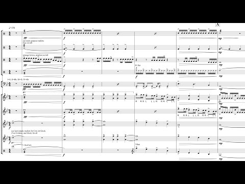 """Percussion Ensemble - """"Escaping a Nightmare"""""""