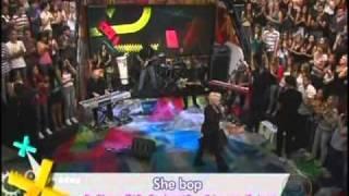 CYNDI LAUPER on ALTAS HORAS (Brazilian tv show) part 1