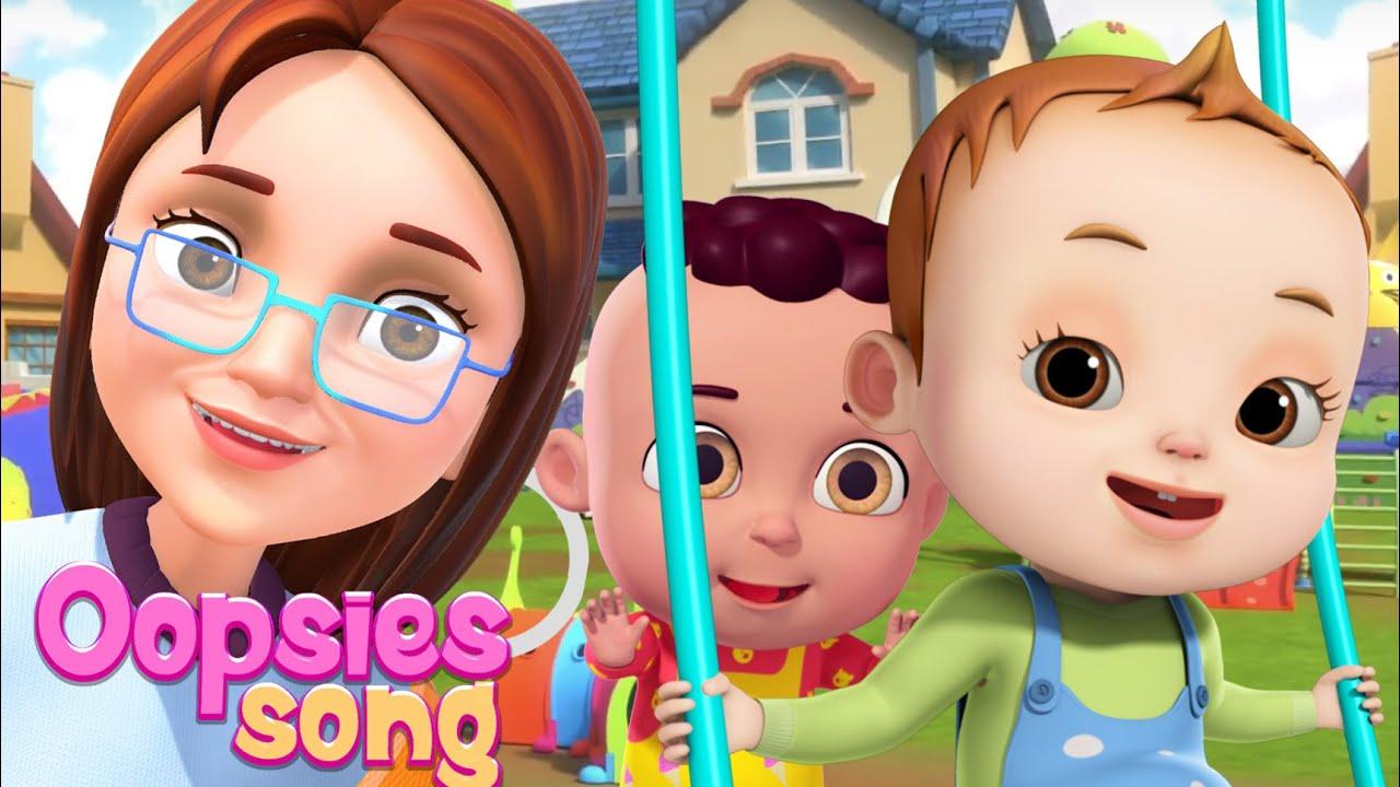 Oopsies Song | Baby Ronnie Rhymes | Nursery Rhymes Kids Songs | BooBoo Songs | Play Safe For Babies