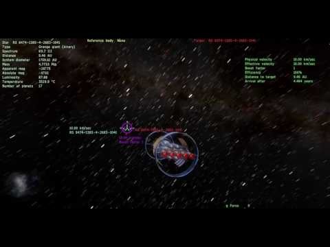 Getting Lost in Space Engine #54 Starship fun