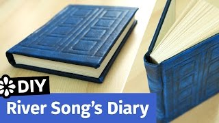 Doctor Who DIY River Song's Diary | TARDIS Journal | Sea Lemon