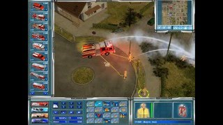 Emergency 4/911:First Responders  Los Angeles Mod Freeplay Part 1 - LA is burning down...