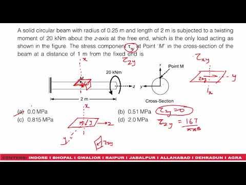 GATE 2018 CIVIL ENGINEERING PAPER SHIFT 1 PART 3