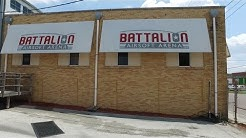 Tour and walkthru of Battalion Airsoft Arena, Jacksonville FL (04/30/2016)
