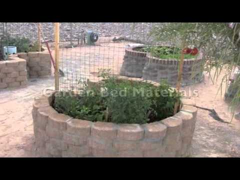 how to build a keyhole garden