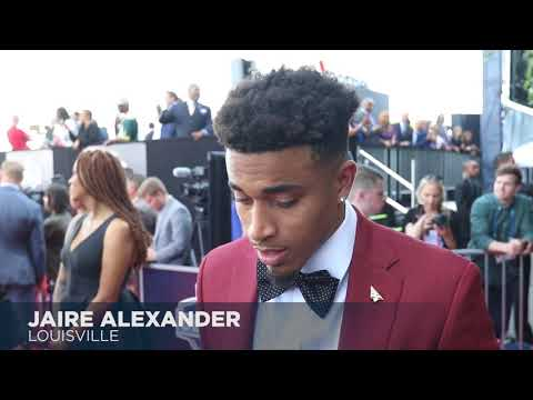 Top moments from the NFL Draft red carpet, including karaoke with Jaire Alexander
