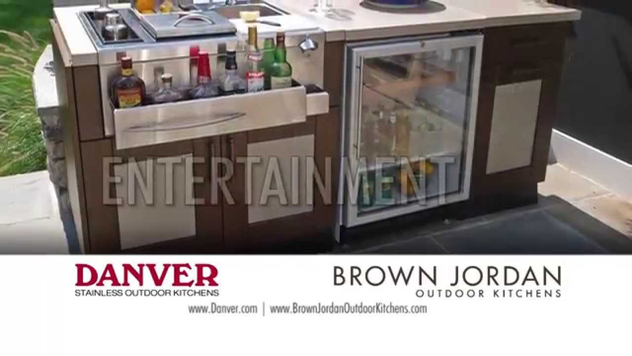 Brown Jordan Outdoor Kitchens Danver Stainless Outdoor Kitchens Youtube