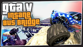 GTA 5 Online - Insane Bus Bridge (GTA Custom Games)