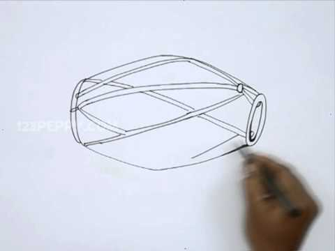 How to Draw a Dholak