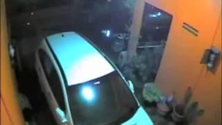Caught CCTV - Robbery Stealing Honda CRV Car
