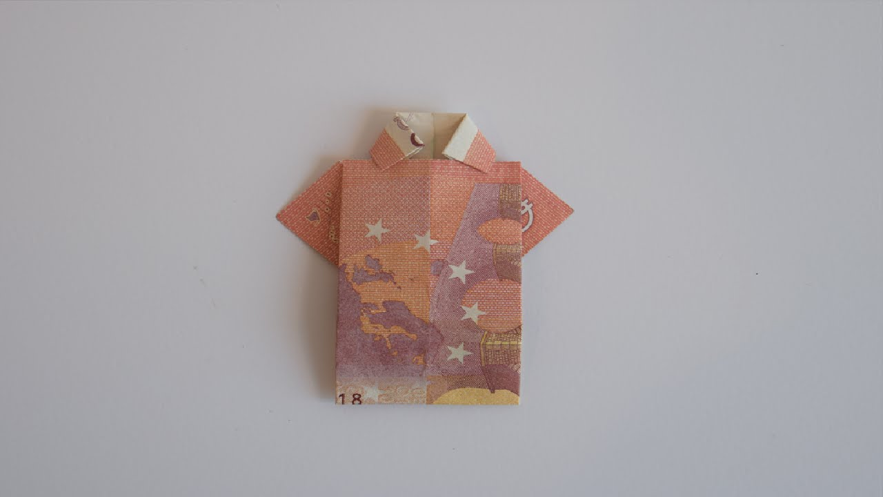 Betere Euro Origami: Shirt - YouTube XH-08