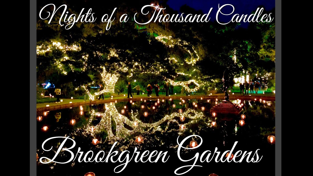 Nights of a Thousand Candles 2017 - Brookgreen Gardens | Attractions ...
