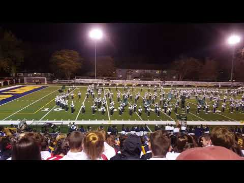 Michigan State marching band at Grand Ledge invitational