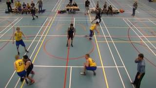 21 januari 2017 HBV The Jumpers U22 vs Rivertrotters U22 53-57 4th period