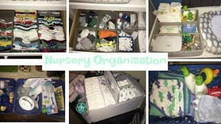 How I organized things for baby (closet, dresser, bath stuff, bottles etc.)