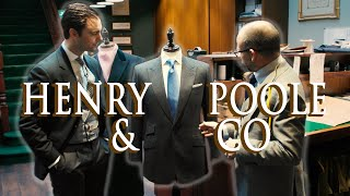 LONDON SAVILE ROW WALKING TOUR: Henry Poole & Co | Kirby Allison