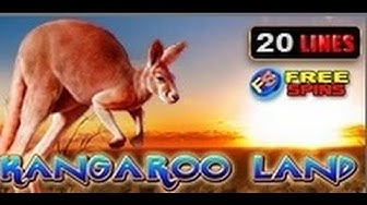 Kangaroo Land - Slot Machine - 20 Lines + Bonus