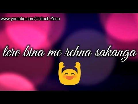 Jiye To Jiye Kaise Bin AapKe || New : Sad 😞 : Love ❤ : Romantic 💏 WhatsApp Status Video 2017 😊