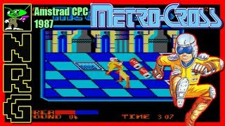 NRG: 5-10 Minutes of Gameplay - Metro-Cross [Amstrad CPC]