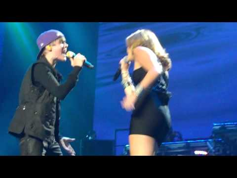 Justin Bieber and Miley Cyrus- Overboard MSG