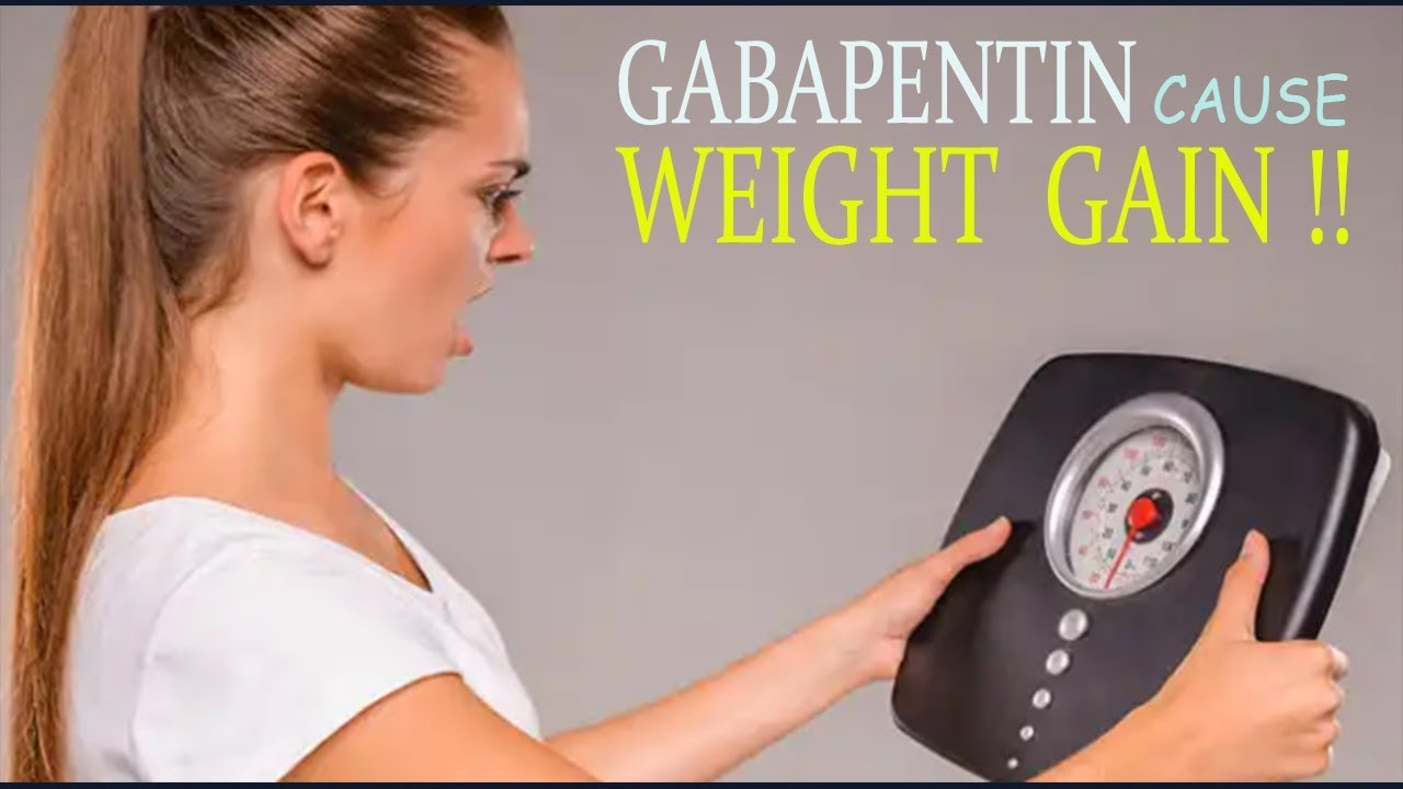 does gabapentin cause weight gain