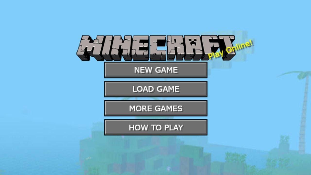 игра Minecraft Online играть онлайн бесплатно