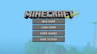 Minecraft Online // Gameplay