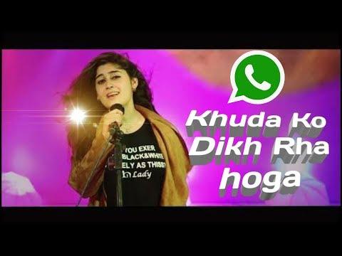 Khuda Ko Dikh Rha hoga | Sofia Kaif | Official Music HD Video | WhatsApp status | Mumbai Bhaijaan